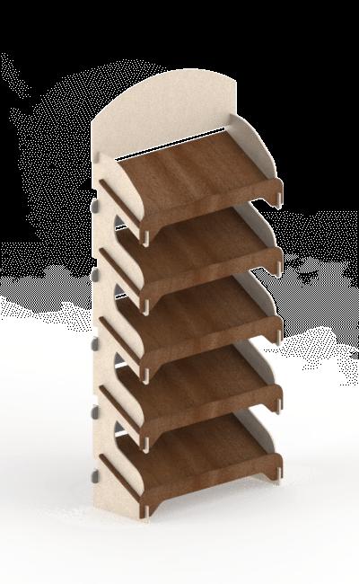 espositore da terra ad incastro eurosud srl cataldi legno betulla