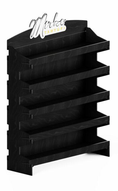 E146 - espositore promozionale in legno personalizzato