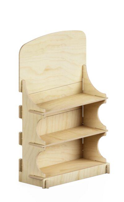 mobile da banco ad incastro in legno