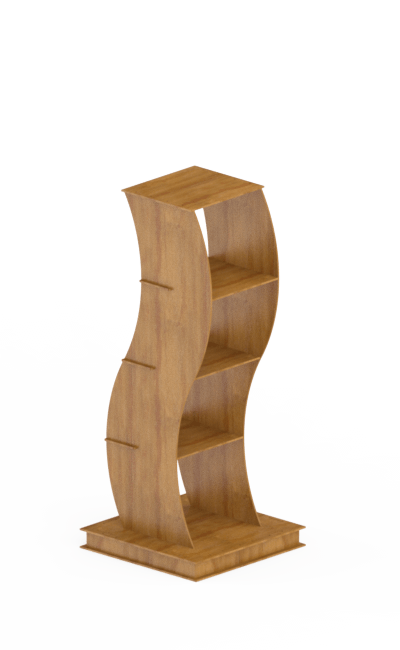 espositore in legno - wooden display stand