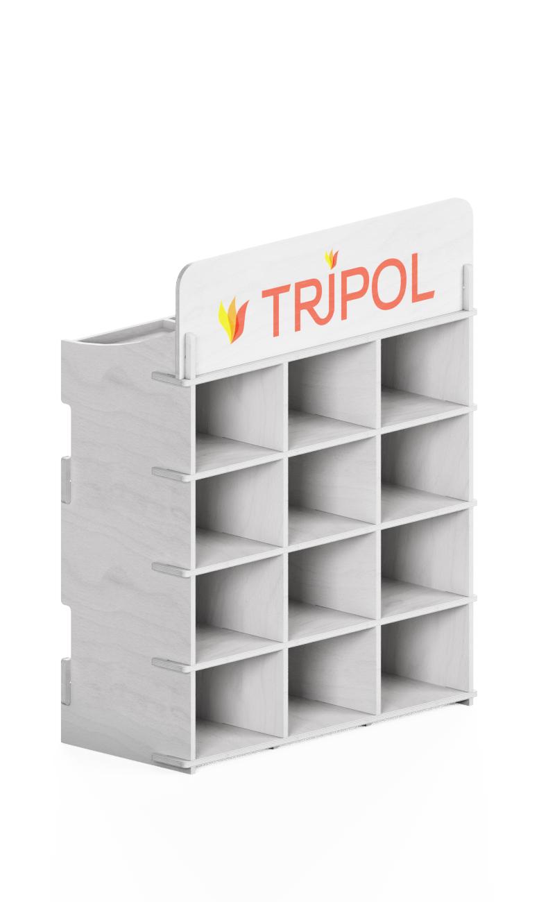 white exhibitor themed Tripol