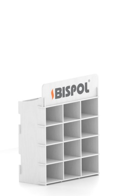 white exhibitor themed Bispol